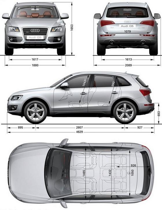Audi Q5 Dane Techniczne Ceny Spalanie Opinie Wymiary