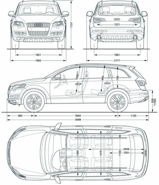 Audi Q7 Dane Techniczne Ceny Spalanie Wymiary Opinie