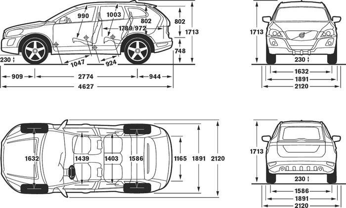 Volvo Xc60 Dane Techniczne Silniki Wyposażenie Zdjęcia