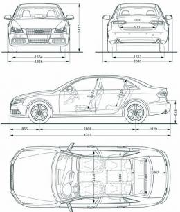 Audi A4 Audi S4 Avant B8 Dane Techniczne Opinie Testy Wymiary