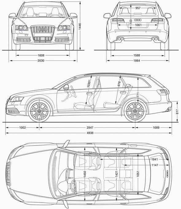 Nowe Audi S6 I S6 Avant Dane Techniczne Wymiary
