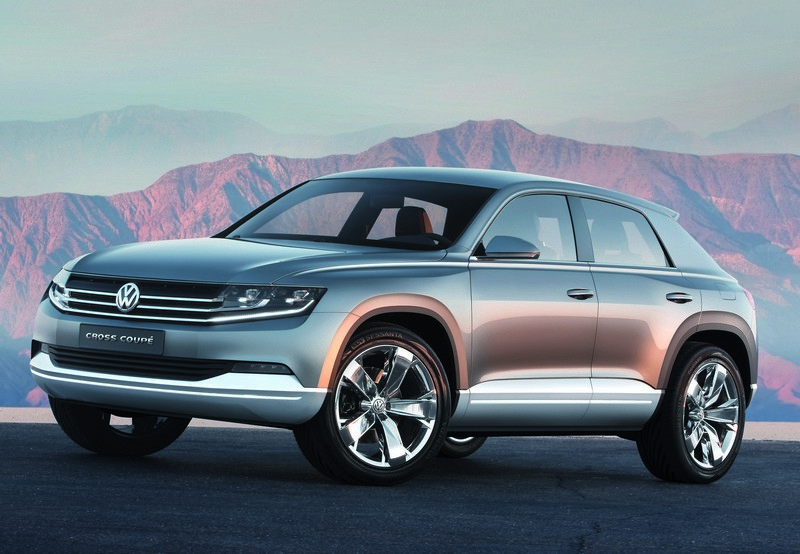 Światowa premiera VW Cross Coupé w Tokio