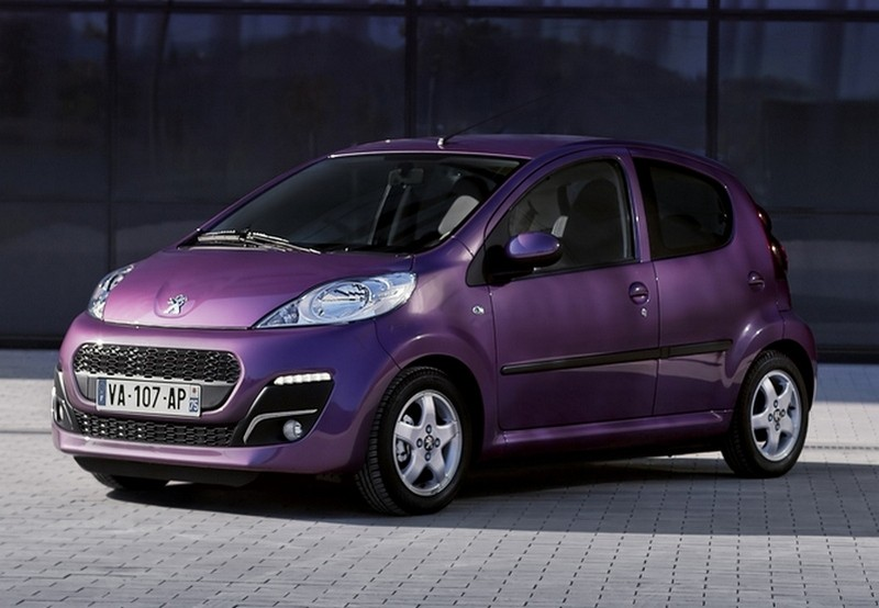 Unikalne Nowy Peugeot 107 - dane techniczne, wyposażenie SW77