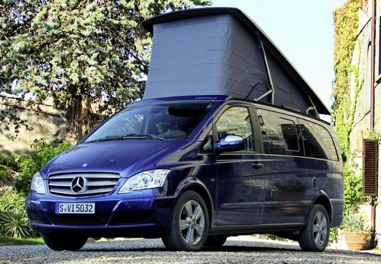 mercedes viano marco polo idealne auto kempingowe. Black Bedroom Furniture Sets. Home Design Ideas