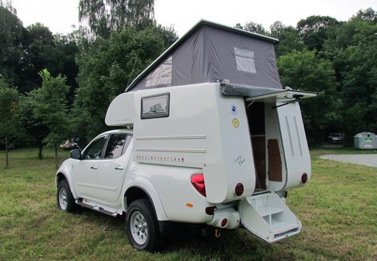 I 5 Toyota >> Mitsubishi L200 Expedition Camper i Pajero Sport