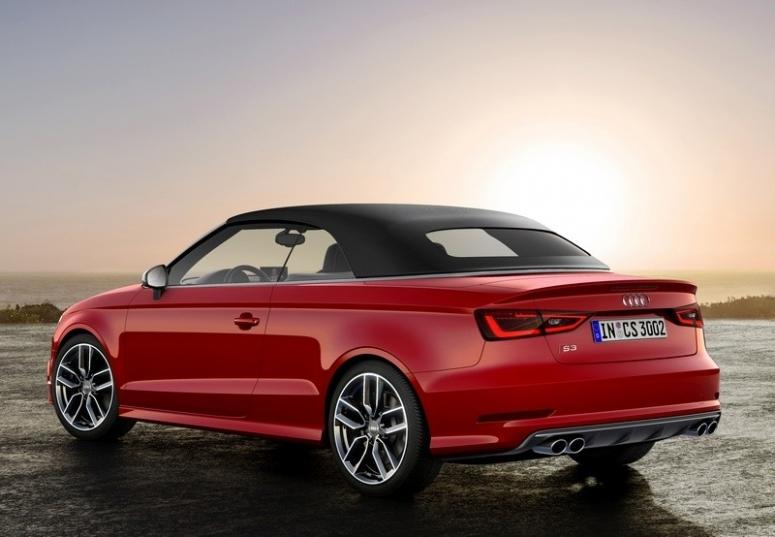 Audi S3 Cabriolet - dane techniczne