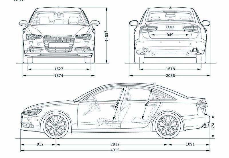 Nowe Audi A6 Dane Techniczne Wymiary