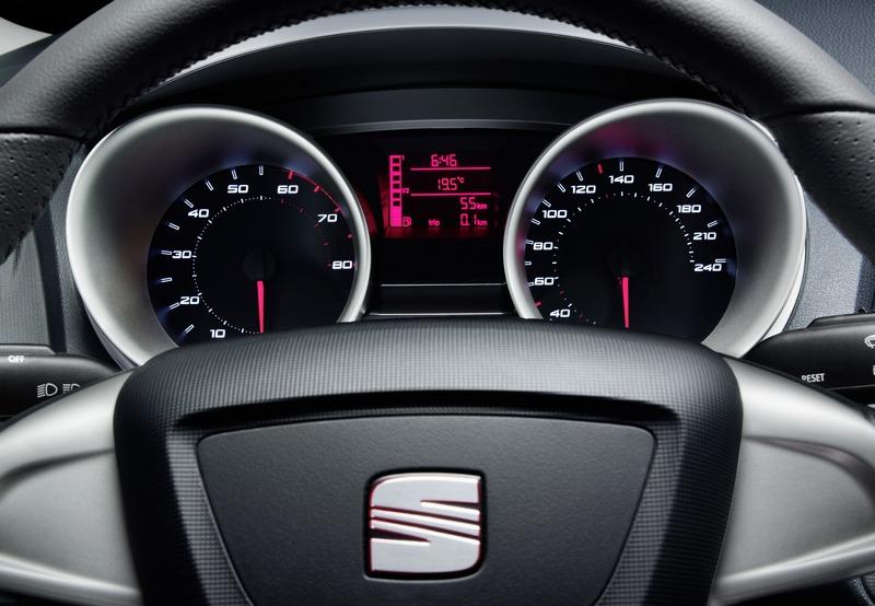 W superbly Nowy SEAT Ibiza - wnętrze GT74