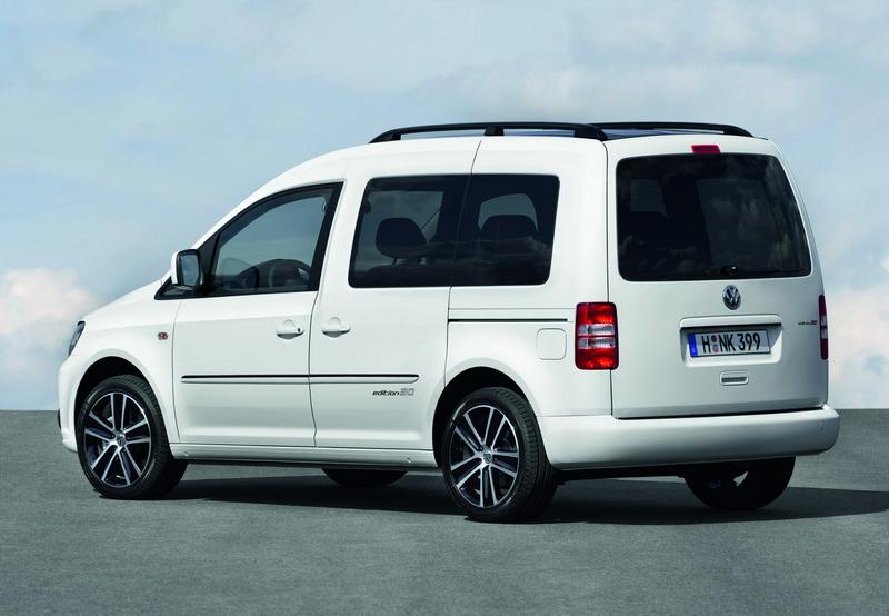VW Caddy Edition 30 - dane techniczne
