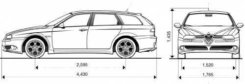 Alfa Romeo Sportwagon Wymiary