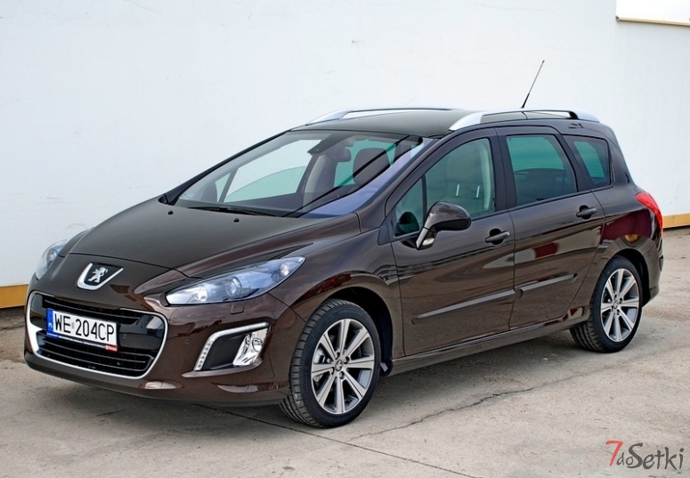 peugeot 308 sw 1 6 e hdi 112 km test i dane techniczne. Black Bedroom Furniture Sets. Home Design Ideas