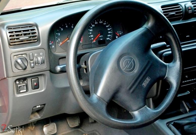 Opel Frontera B Sport 2.2l 136 KM - dobry leśniczy na emeryturze T L Jaguar